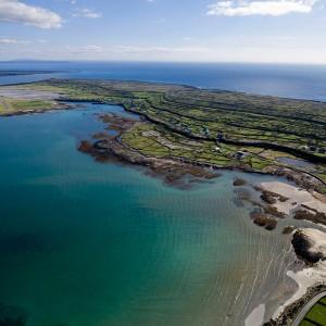 Aran Islands patchwork stonewalled fields