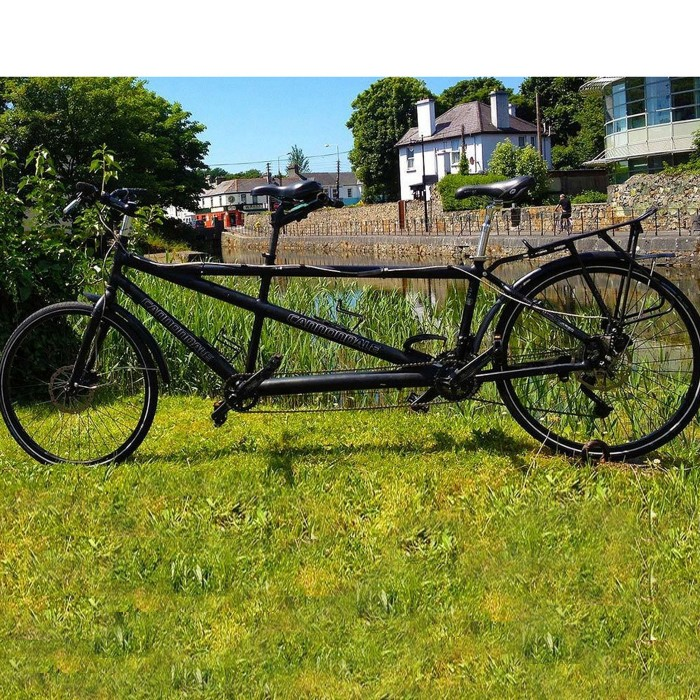 Tandem bike to rent in Galway in Ireland