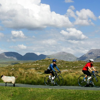 We provide cycling tours and bike hire in the West of Ireland