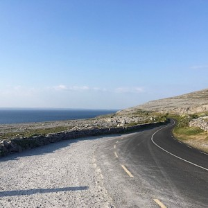 Cycling holiday on the Burren Coast