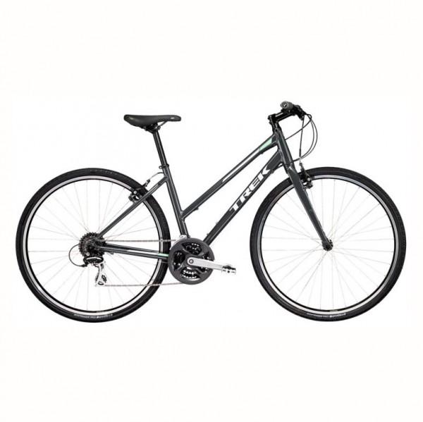 Ladies Trek hybrid touring bike to rent in Galway